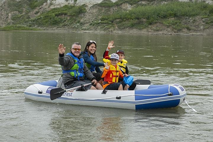 Raft Sale (Inflatable 4 person raft with 2 PFDs) image