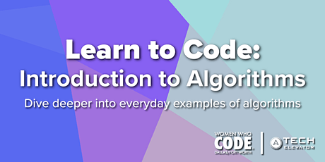 Learn to Code: Introduction to Algorithms tickets