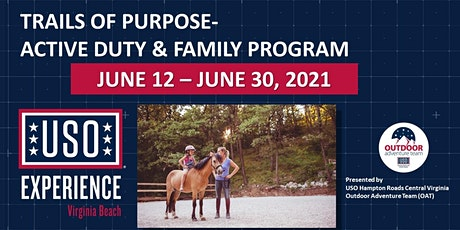 USO Experience | Trails of Purpose Equine Therapy and Horseback Riding tickets