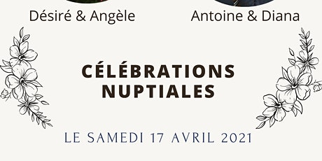 Bénédiction nuptiale d'Antoine et Diana billets