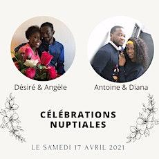 Bénédiction nuptiale de Désiré et Angèle billets