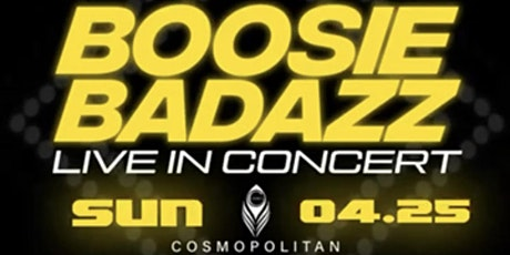 Boosie Badazz Performing Live at Cosmopolitan Premier Lounge Official tickets