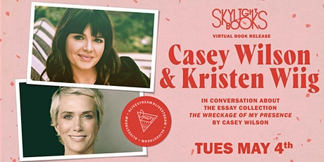 Casey Wilson's The Wreckage of My Presence in conversation w/ Kristen Wiig tickets