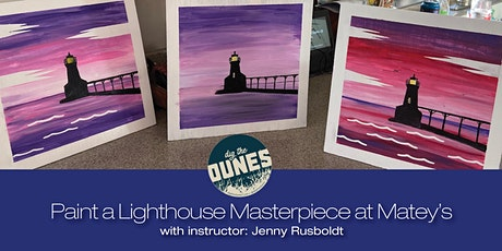 Paint a Lighthouse Masterpiece at Mateys! tickets