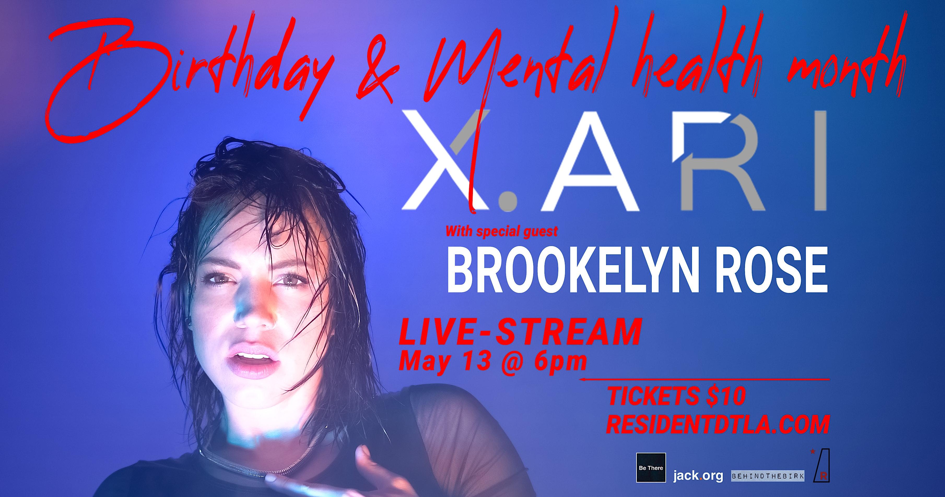 X.ARI Birthday & Mental Health Month Party