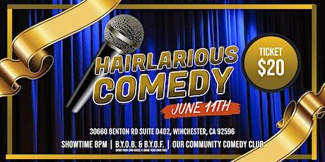 HAIRlarious Comedy Show W/ Adam Hunter & Friends tickets
