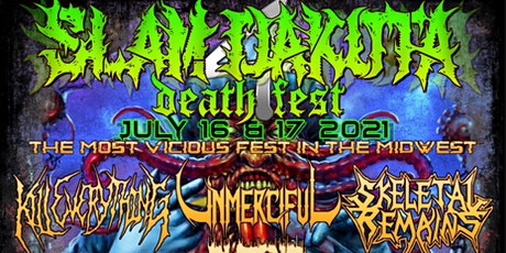 Slamdakota Death Fest 2021 tickets