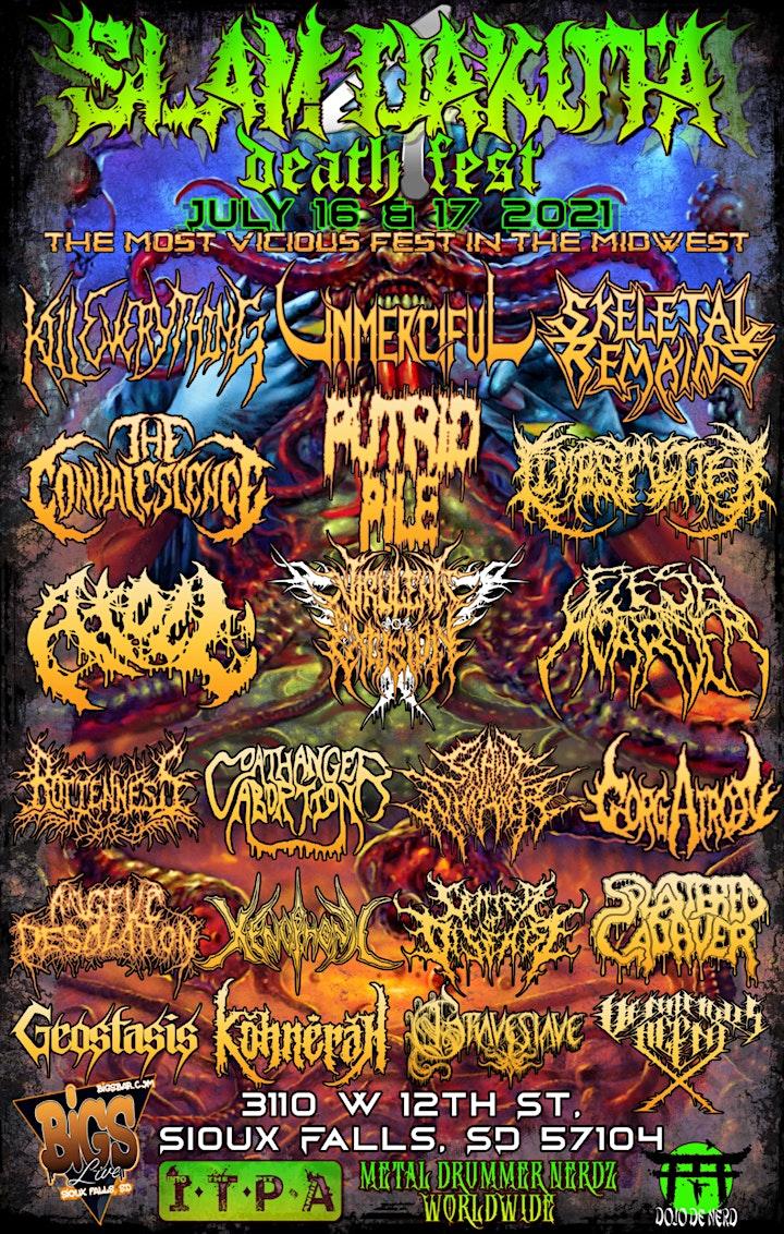 Slamdakota Death Fest 2021 image