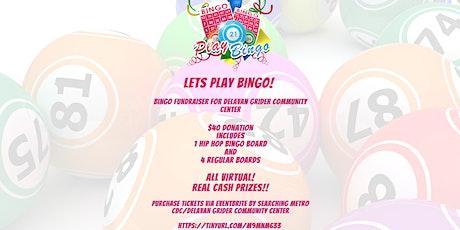 """Metro CDC Delavan Grider Community Center Presents """"Let's Play Bingo!"""" tickets"""
