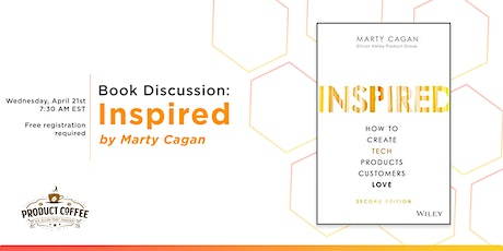 Inspired by Marty Cagan - Book Discussion tickets