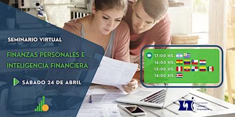 Seminario Virtual: Finanzas Personales e Inteligencia Financiera boletos