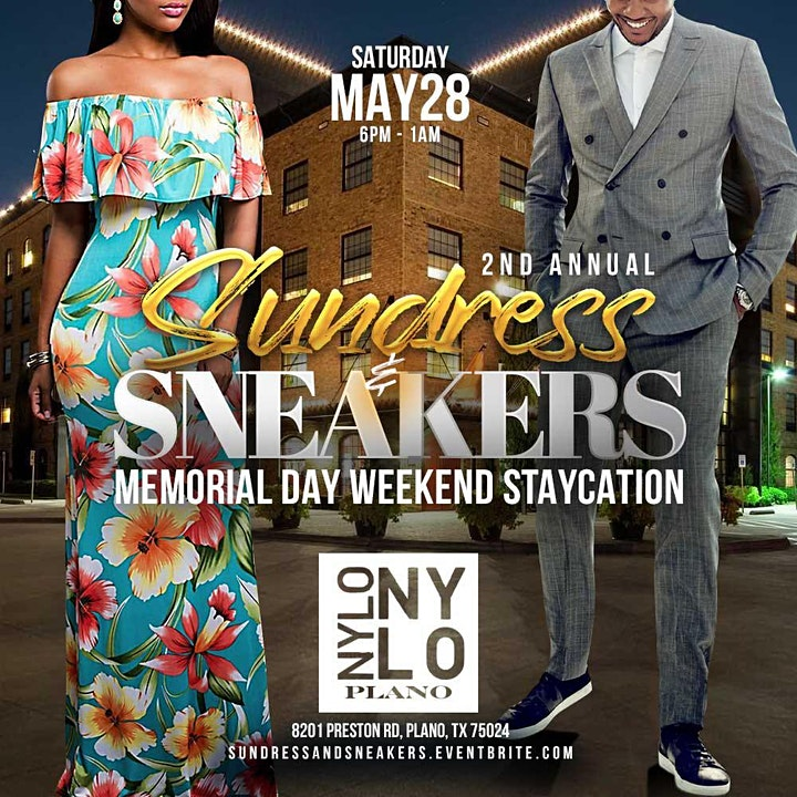 Sundress & Sneakers ~ Memorial Day Weekend Staycation image