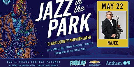 Jazz In The Park featuring NAJEE tickets