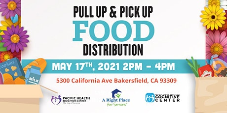 Pull Up- Pick Up Food Distribution tickets