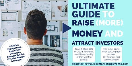 How to Raise (More) Money for your start-up and business tickets