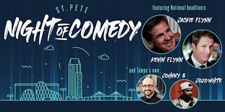 St Pete Night of Comedy - Featuring Jackie Flynn & Kevin Flynn tickets