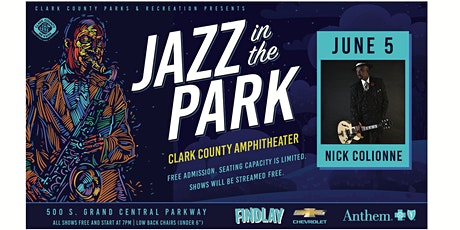 Jazz In The Park featuring NICK COLIONNE tickets