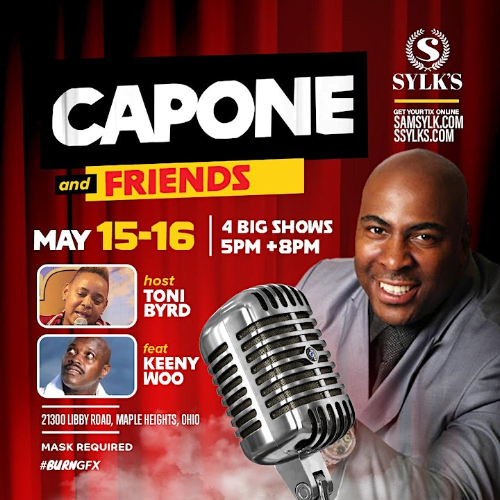 Sam Sylk presents Comedian Capone & Friends image
