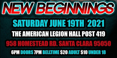 The Western Regional Wrestling Association: New Beginnings tickets