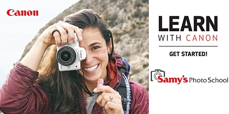 Learn with Canon: Get Started – Live Online tickets
