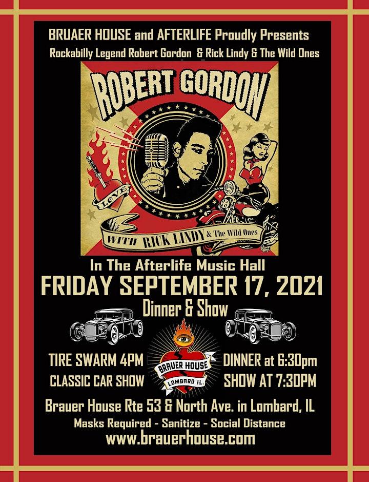 [postponed] Rockabilly Legend Robert Gordon & Rick Lindy & The Wild Ones image
