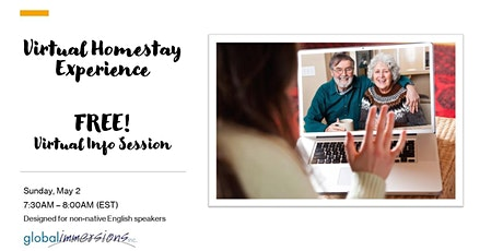 FREE! Virtual Homestay Experience Info Session tickets