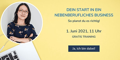 Dein Start in ein nebenberufliches Business Tickets