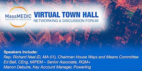 MassMEDIC  Virtual Town Hall tickets