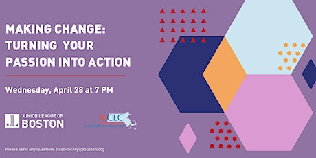 Making Change: Turning Your Passion into Action tickets