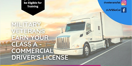 CLASS A - CDL Training for Eligible U.S. Veterans tickets