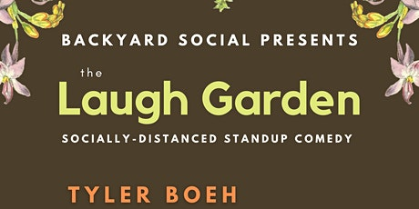 The Laugh Garden: Socially Distanced Standup Comedy tickets
