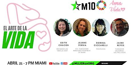 El arte de la vida con Edith Chacón, líder M10ODS boletos