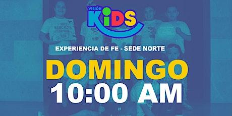 Experiencia de Fe KIDS 10:00am Sede Norte entradas
