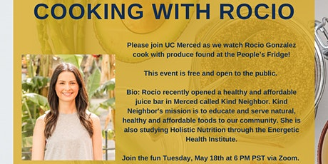 Cooking with Rocio tickets