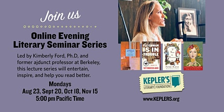 Online Evening Literary Seminar Series tickets