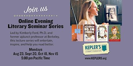 Online Evening Literary Seminar Series billets