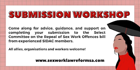 SIDAC Submission Workshop tickets