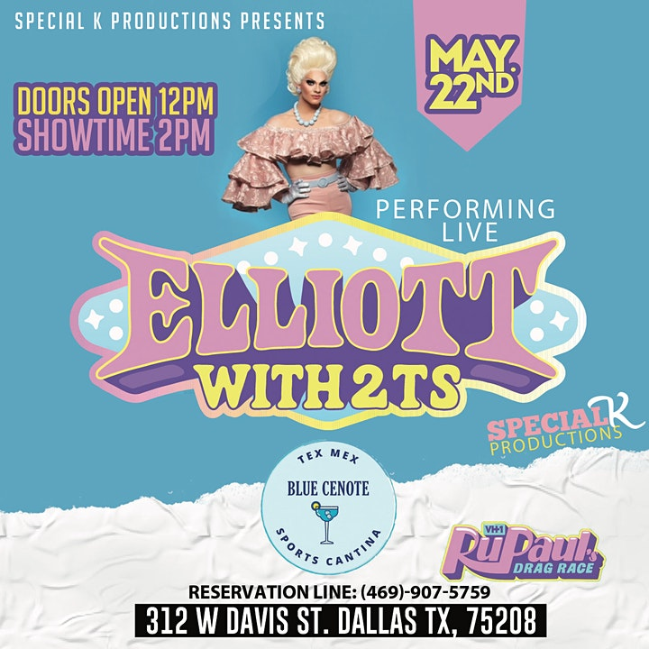Drag Me To Brunch W/Elliot With 2 Ts image