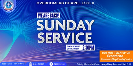 GEC Overcomers Chapel Sunday Service tickets
