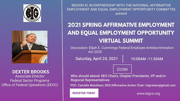 Region XI in partnership with National AE/EEO Committee  AE/EEO Summit image