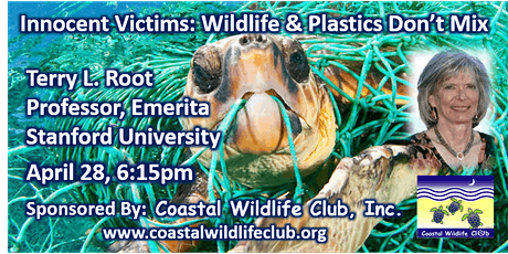 Wildlife & Plastics Don't Mix with Speaker Dr. Terry L Root tickets