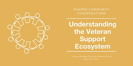 Shared Community Conversations: Understanding the Veteran Support Ecosystem tickets