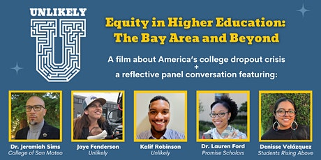 """""""Unlikely"""" Film & Panel Discussion - Scholarship Benefit Event tickets"""