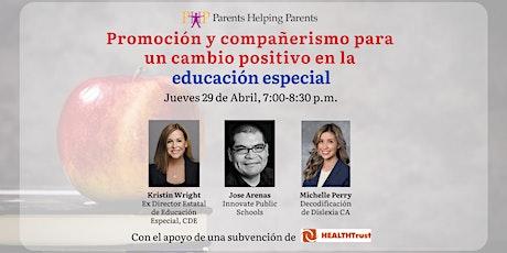 Promoción y compañerismo para un cambio positivo en la educación especial entradas