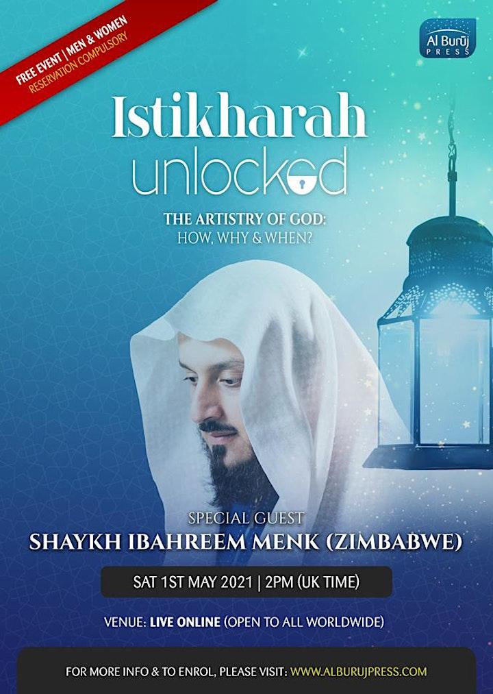 Istikharah Unlocked with Shaykh Ibraheem Menk (Zimbabwe): FREE image