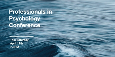 Professionals in Psychology Conference tickets