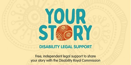 Your Story and the Disability Royal Commission tickets