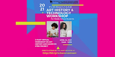 All About S.T.E.A.M. Art and Technology Workshop tickets