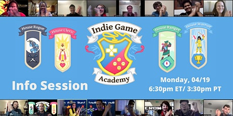 Indie Game Academy: Become a published game developer in just 3 months! tickets