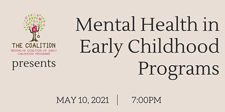 Mental Health in Early Childhood Programs tickets